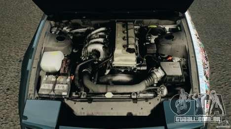 Nissan 240SX JDM para GTA 4 interior
