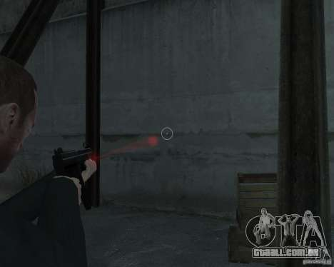 Flashlight for Weapons v 2.0 para GTA 4 terceira tela