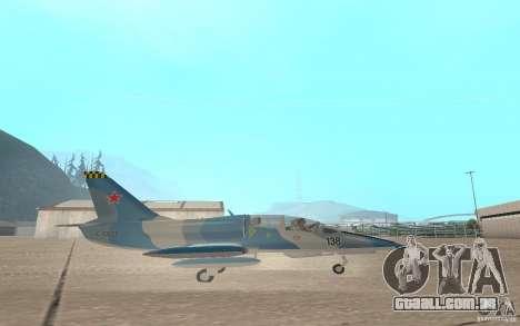 L-39 Albatross para GTA San Andreas vista traseira