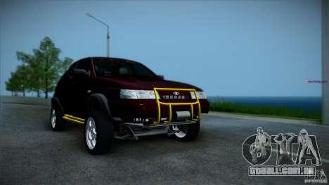 LADA 4x4 Tarzan para GTA San Andreas traseira esquerda vista