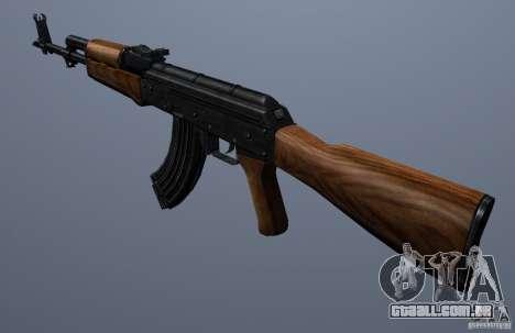 AKM - the more accurate version para GTA San Andreas segunda tela