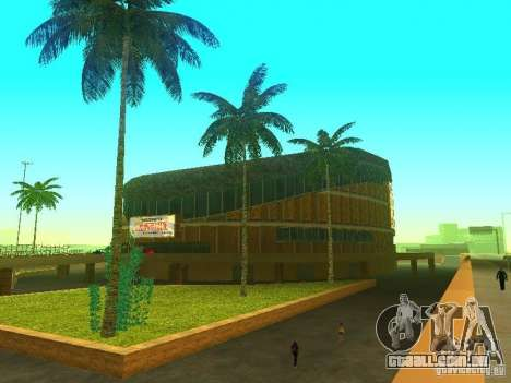 O novo edifício do ve para GTA San Andreas terceira tela