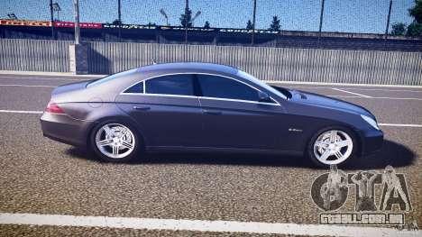 Mercedes-Benz CLS 63 para GTA 4 vista lateral