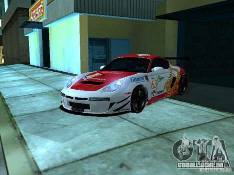 Porsche Cayman S NFS Shift para GTA San Andreas vista interior
