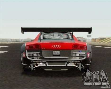Audi R8 LMS v2.0.1 para vista lateral GTA San Andreas