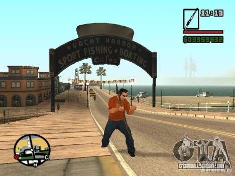 Lança para GTA San Andreas quinto tela