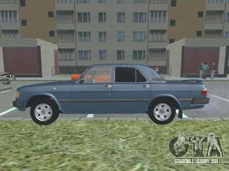 GAZ 3110 Volga v 1.0 para GTA San Andreas esquerda vista