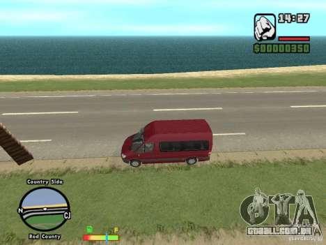 Mercedes-Benz 311 CDi para GTA San Andreas esquerda vista