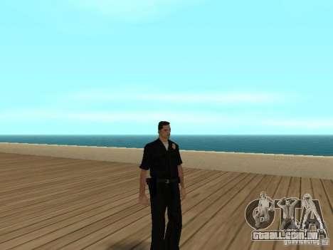 Polícia covarde para GTA San Andreas por diante tela