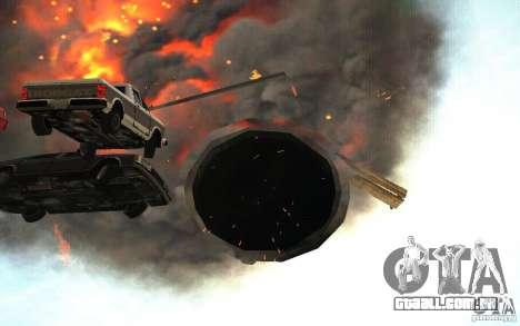 Buraco negro para GTA San Andreas quinto tela