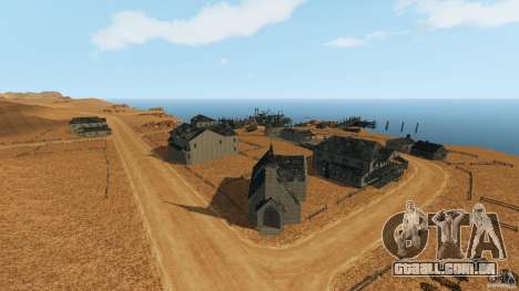 Red Dead Desert 2012 para GTA 4 segundo screenshot