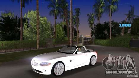 BMW Z4 2004 para GTA Vice City