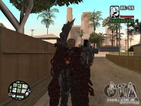 Wesker Ouroboros para GTA San Andreas terceira tela