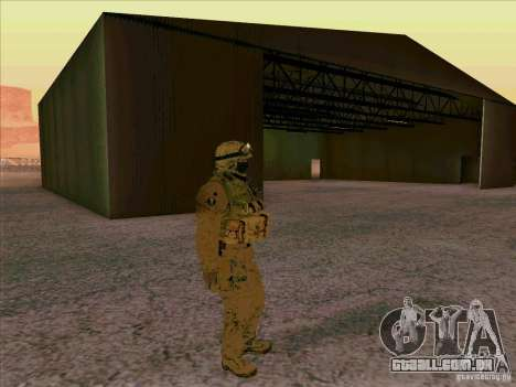 Morpeh americano para GTA San Andreas terceira tela