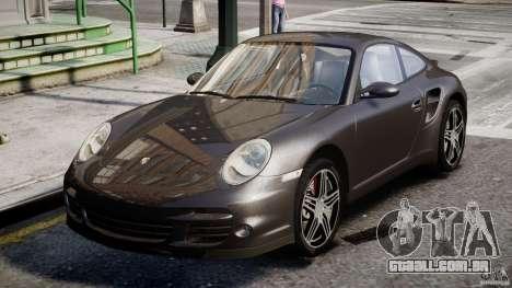 Porsche 911 Turbo para GTA 4 esquerda vista