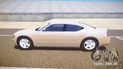 Dodge Charger RT Hemi 2007 Wh 1 para GTA 4 esquerda vista