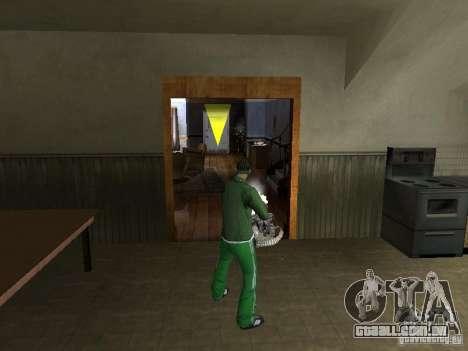 CLEO armas para GTA San Andreas quinto tela