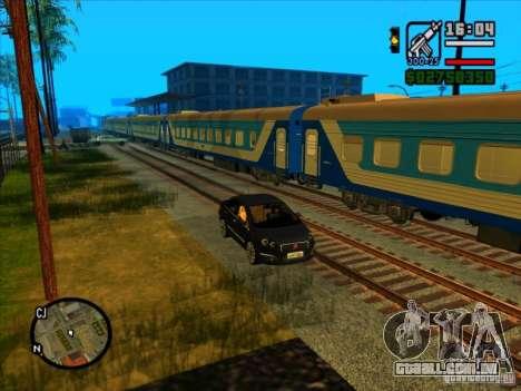 Trem longo para GTA San Andreas