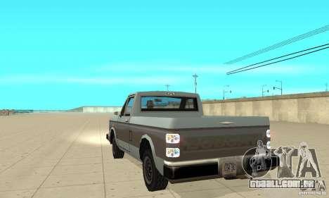 New lights and crash para GTA San Andreas por diante tela