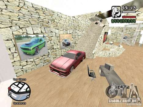 Dodge Salon para GTA San Andreas por diante tela