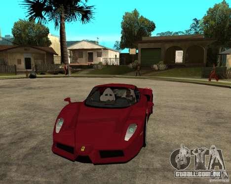 Ferrari ENZO 2003 v.2 final para GTA San Andreas vista traseira