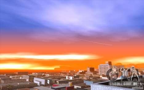 Timecyc Los Angeles para GTA San Andreas sexta tela