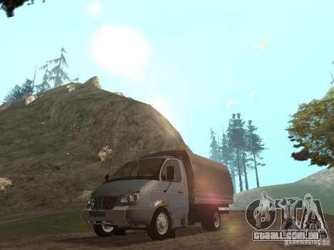 GÁS-3310 Valdai para GTA San Andreas esquerda vista