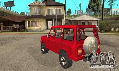 ARO 244 para GTA San Andreas traseira esquerda vista
