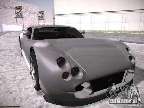 TVR Cerbera Speed 12 para GTA San Andreas vista inferior