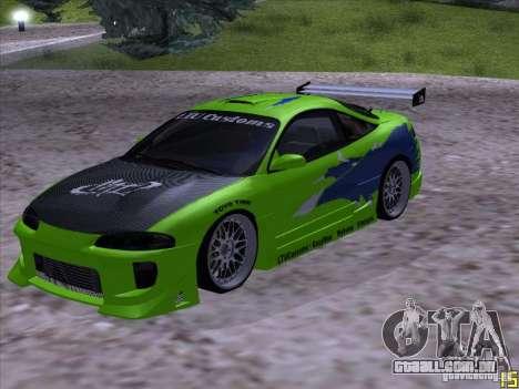 Mitsubishi Eclipse 1998 - FnF para GTA San Andreas
