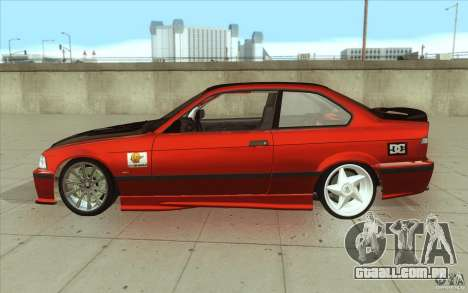 BMW Fan Drift Bolidas para GTA San Andreas esquerda vista