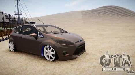 Ford Fiesta 2012 para GTA 4 esquerda vista