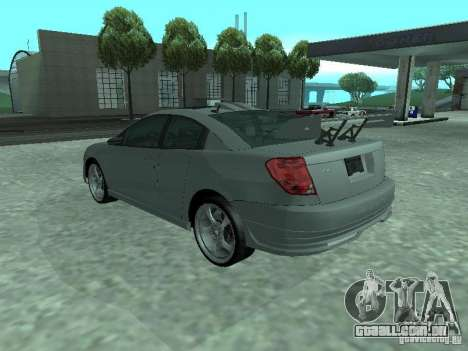 Saturn Ion Quad Coupe 2004 para o motor de GTA San Andreas