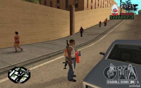Kinder Surprise para GTA San Andreas terceira tela