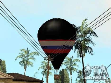Balão Vityaz para GTA San Andreas vista direita