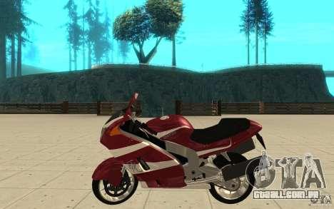 GTAIV TLAD Hakuchou Stock Version para GTA San Andreas esquerda vista