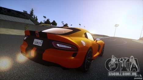 Dodge Viper GTS 2013 v1.0 para GTA 4 esquerda vista