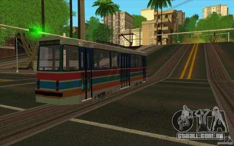 Timis 2 para GTA San Andreas traseira esquerda vista