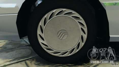 Mercury Tracer 1993 v1.1 para GTA 4 vista de volta