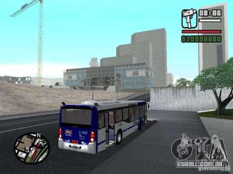 Busscar Urbanuss Ecoss MB 0500U Sambaiba para GTA San Andreas vista direita