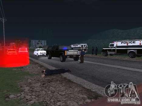 Police Post para GTA San Andreas segunda tela