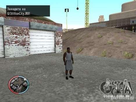 Mascaramento para GTA San Andreas segunda tela