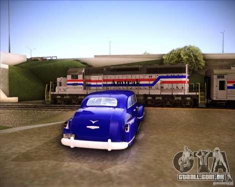 Lissiter 75 para GTA San Andreas traseira esquerda vista