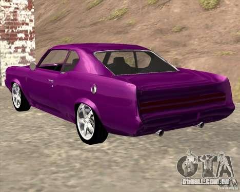 Oldsmobile 442 (Flatout 2) para GTA San Andreas esquerda vista