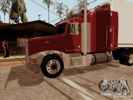 Peterbilt 377 para GTA San Andreas vista interior