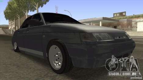 VAZ 2110 Dag para GTA San Andreas vista traseira