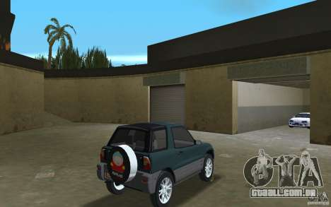 Toyota RAV4 para GTA Vice City vista direita