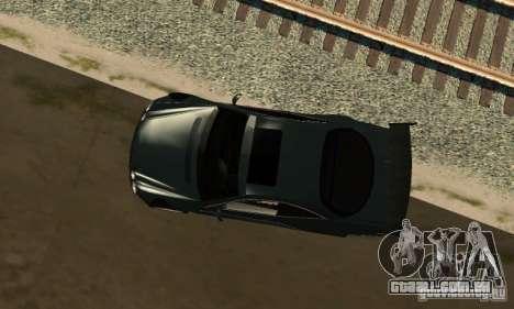 Mercedes-Benz CL65 Eligible Ferry Tuning para GTA San Andreas traseira esquerda vista