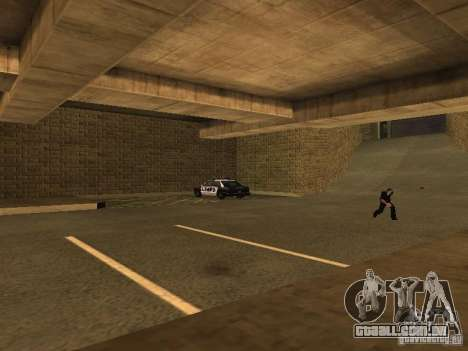 The Los Angeles Police Department para GTA San Andreas quinto tela