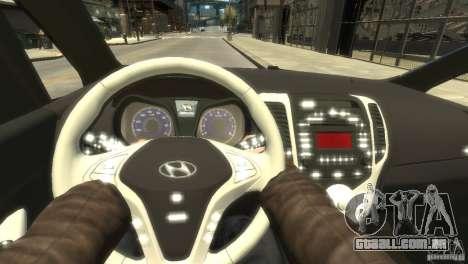 Hyundai IX20 2011 para GTA 4 vista interior